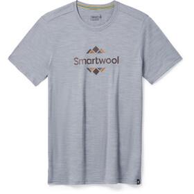 Smartwool Merino Sport 150 Smartwool Logo SS Graphic Tee Men light gray heather